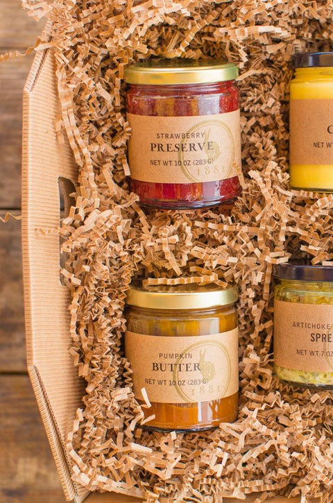 gift sets and fruit preserves