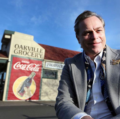 Jean-Charles Boisset at Oakville Grocery