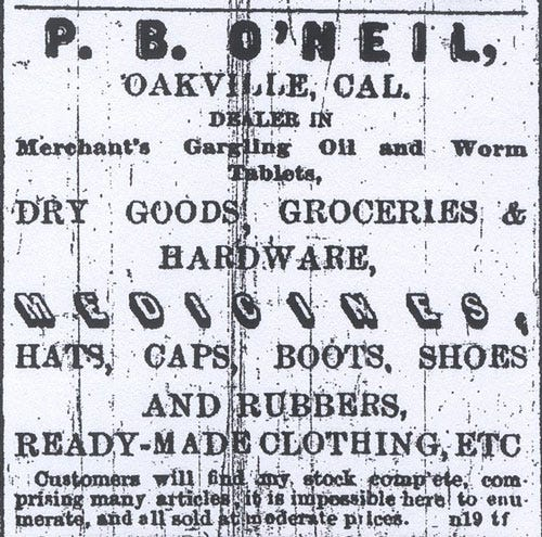 P.B. O'Neill Newspaper