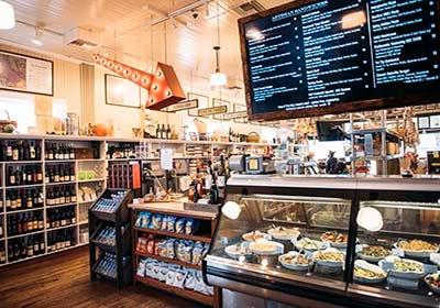 Oakville Grocery store interior