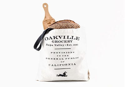 Oakville Grocery canvas tote bag