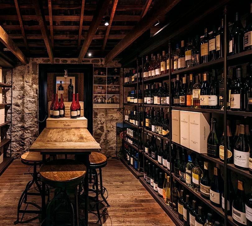 Oakville Grocery Wine Cave Bottles