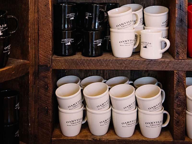 Oakville Grocery mugs