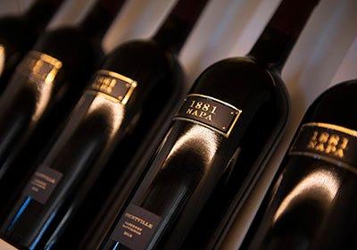 Oakville Wine Merchant wine bottles