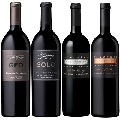 Signature Estate Cabernet Sauvignon Virtual Tasting - Silverado Vineyards & St. Suprey