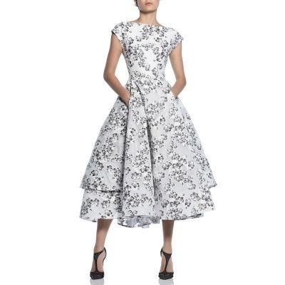 "Maticevski ""Innocents"" Embroidered Dress - Flora"