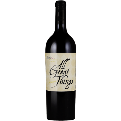 2016 Fantesca All Great Things 'Justice II' Red Blend Howell Mountain