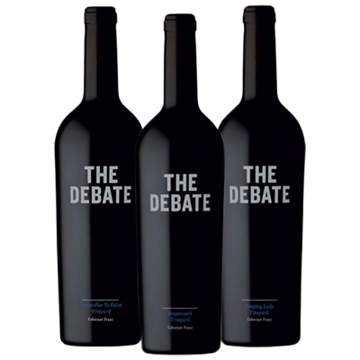 2017 The Debate Cabernet Franc Napa Valley 3pk