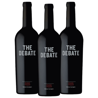 2017 The Debate Winery Cabernet Sauvignon 3pk
