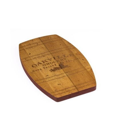 Oakville Grocery Barrel Cutting Board