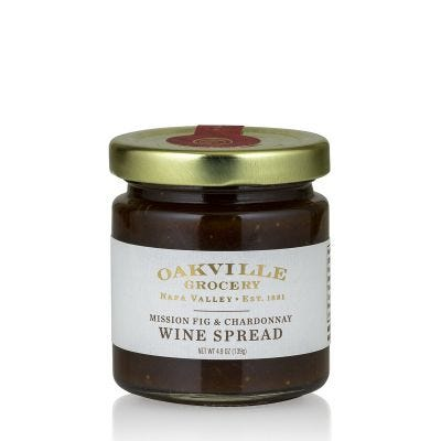 Oakville Grocery Mission Fig and Chardonnay Wine Spread