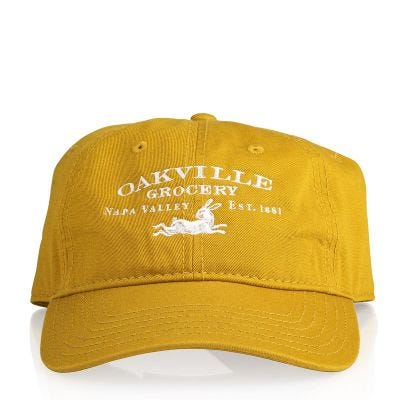 Oakville Grocery Faded Gold Hat