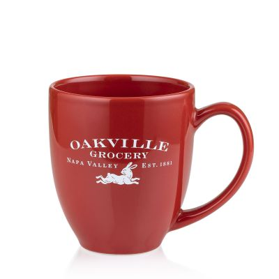 Oakville Grocery Red Stoneware Mug