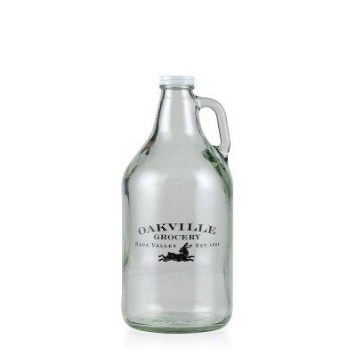 Oakville Grocery 64oz Glass Beer Growler