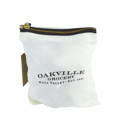 Oakville grocery New Canvas Zippered Clutch Bag