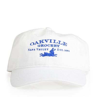 Oakville Grocery White Baseball Hat