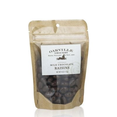 Oakville Grocery Milk Chocolate Raisins