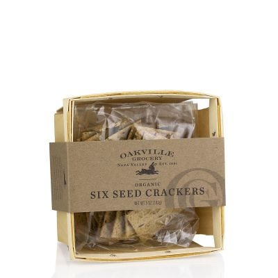Oakville Grocery Six Seed Crackers