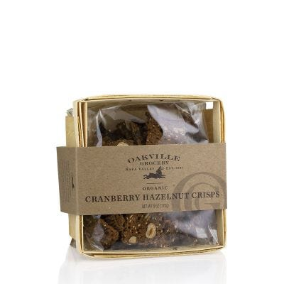 Oakville Grocery Cranberry Hazelnut Crisps