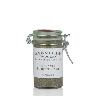 Oakville Grocery Organic Rubbed Sage