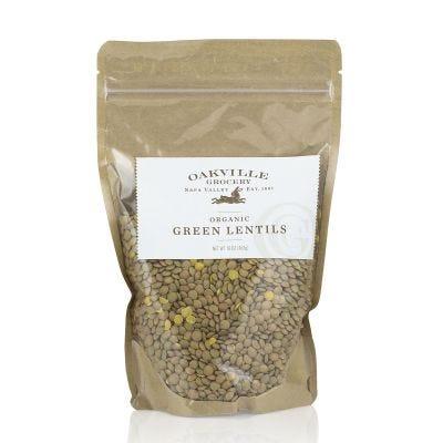 Oakville Grocery Organic Green Lentils