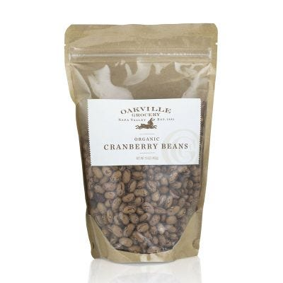 Oakville Grocery Organic Cranberry Beans