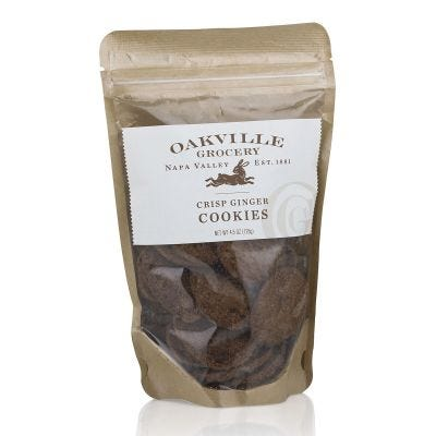 Oakville Grocery Crisp Ginger Cookies