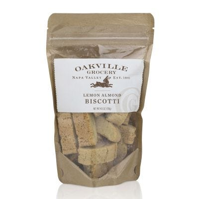 Oakville Grocery Lemon Almond Biscotti