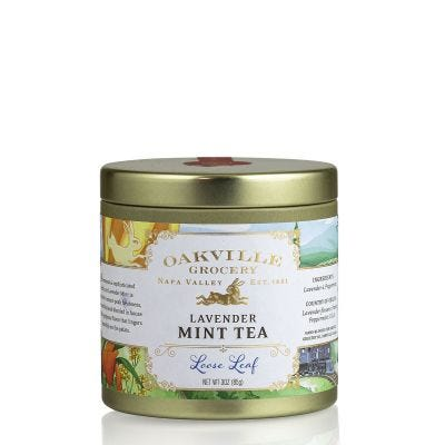 Oakville Grocery Lavender Mint Loose-Leaf Tea