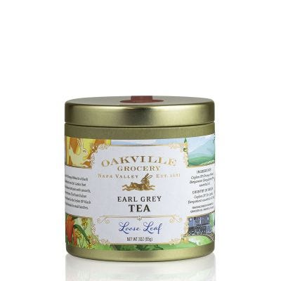 Oakville Grocery Earl Grey Loose Leaf Tea