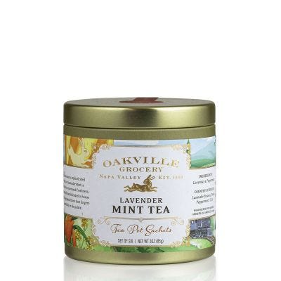 Oakville Grocery Lavender Mint Tea Bags