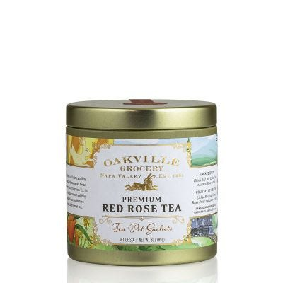 Oakville Grocery Red Rose Tea Sachets
