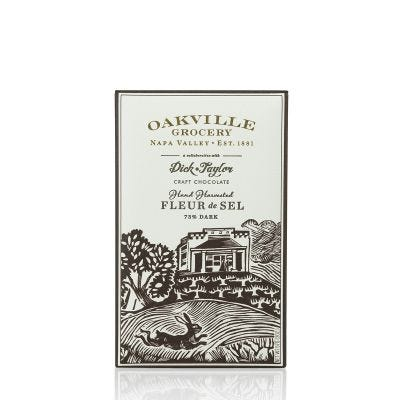 Oakville Grocery Hand-Harvested Fleur de Sel Chocolate