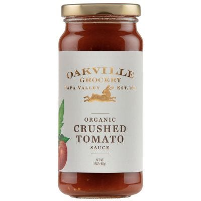 Oakville Grocery Organic Crushed Tomato Sauce