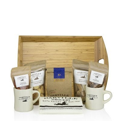 Breakfast in Bed - Oakville Grocery Gift Set
