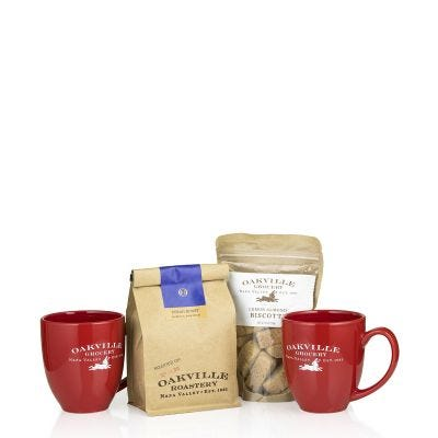 Coffee Shop at Home - Oakville Grocery Gift Set
