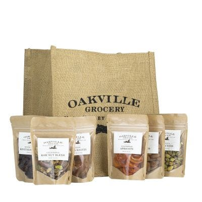 Healthy Nibbles - Oakville Grocery Gift Set
