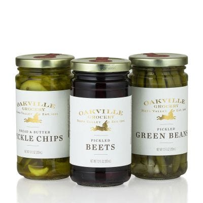 Pickle Trio - Oakville Grocery Gift Set