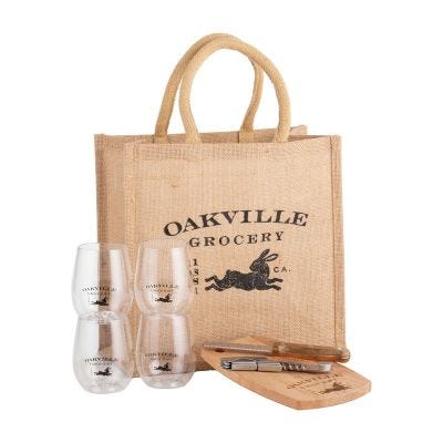 Oakville Grocery Gift Set - Have Wine, Will Travel