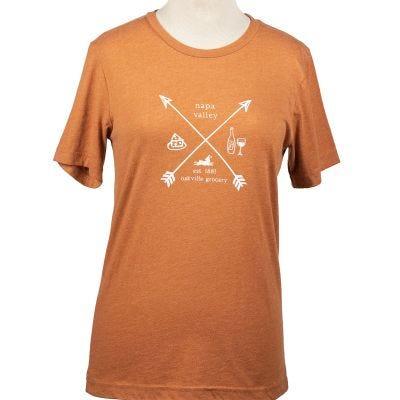 Oakville Grocery Arrow Tee Shirt - Autumn