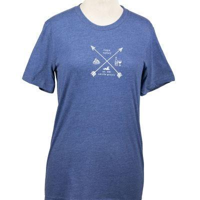 "Oakville Grocery ""Arrow"" Tee-Shirt - Navy"