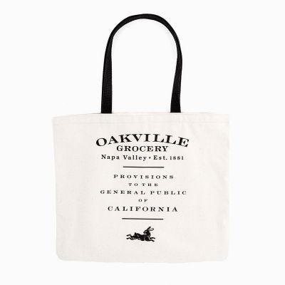 Oakville Grocery Organic Canvas Tote