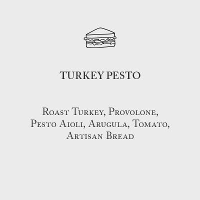 Turkey Pesto