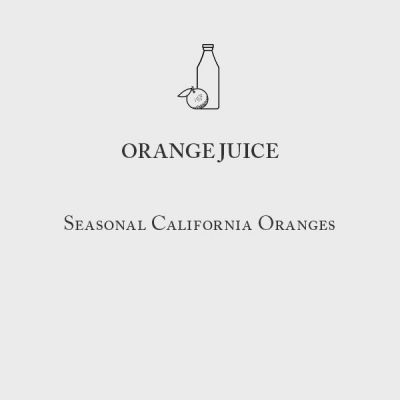 Oakville Grocery California Orange Juice