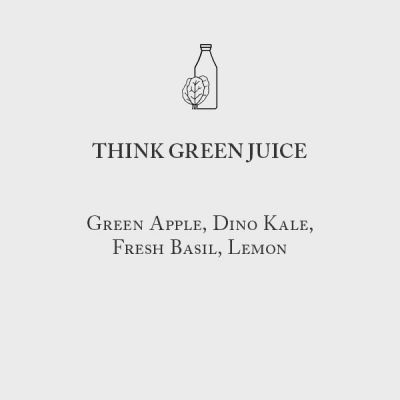 Oakville Grocery Think Green Juice