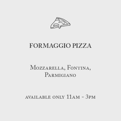 Formaggio Pizza