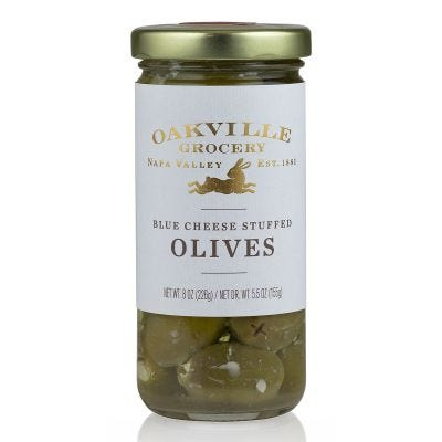 Oakville Grocery Blue Cheese Stuffed Olives