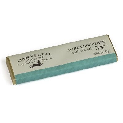 Oakville Grocery Dark Chocolate Bar With Sea Salt