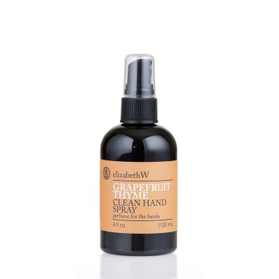 Elizabeth w Grapefruit Thyme Clean Hand Spray