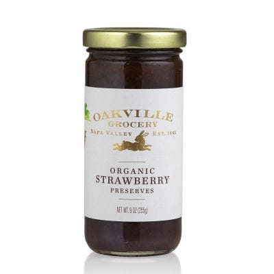 Oakville Grocery Organic Strawberry Preserves